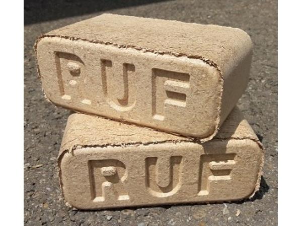 Топливные брикеты Ruf из чистого опила дуба и бука