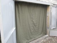 Брезентовые шторы, Брезентовые Шторы в гараж, Брезент