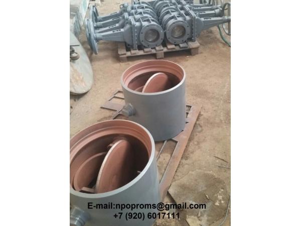 Клапаны обратные поворотные (КОП) стальные, лс и нж: 19с47нж, 19с70нж.