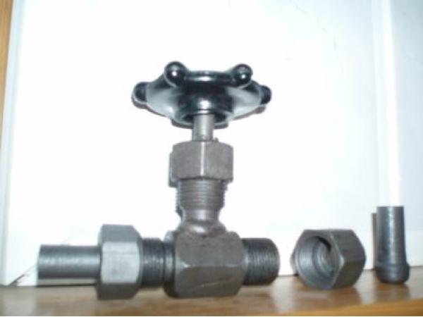 Вентиль игольчатый (клапан запорный стальной) 15с54бк, 15нж54бк ВИ-160