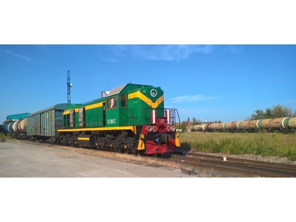 Отстой вагонов при ж.д. станции Комбинатская
