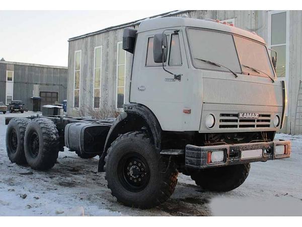 КамАЗ-43118 шасси вездеход 6х6 с капремонта.