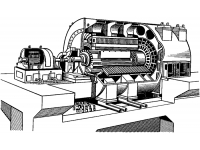 Испытательный стенд с нагрузочным устройством 30 МВт