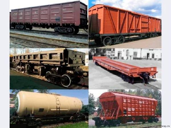 Железнодорожные грузоперевозки - приём и отправка вагонов в Крыму