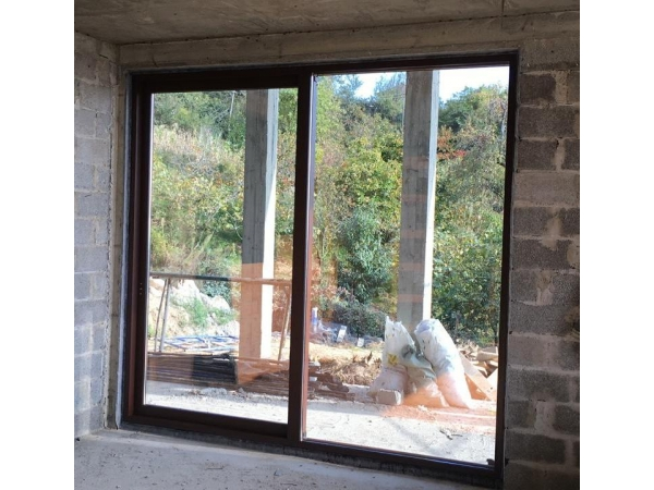 Алюминиевые двери (раздвижные) Alumil