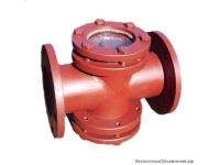 Фонарь смотровой прямоточный и угловой трубопроводный АТК