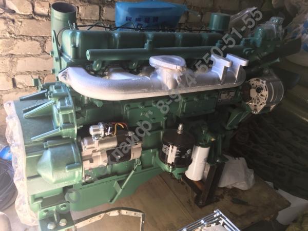 Двигатель FAW CA6110/125T-2G2 для комбайна John Deere (Джон Дир) 3316