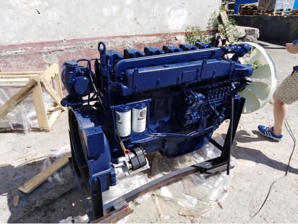 Двигатель Weichai WP10.340 Евро-2 на самосвалы Shaanxi, Shacman