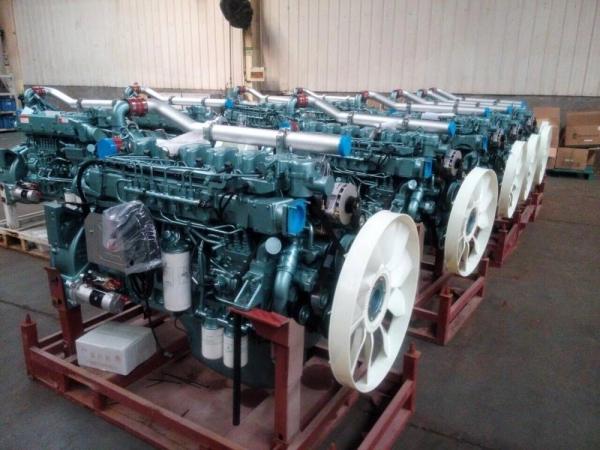 Двигатель Sinotruk D10.38A-40 для автокрана XCMG QY70KS, XCMG QY50KS