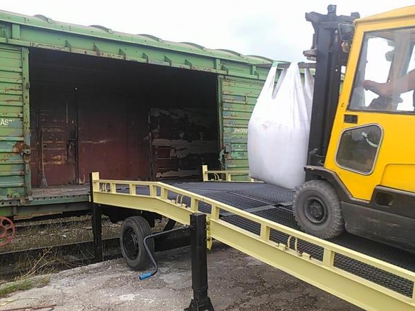 Приём и перевалка грузов на Крымской железной дороге.