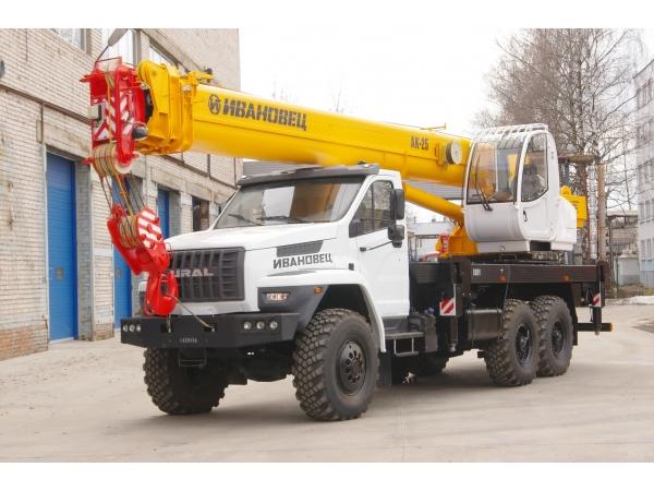Автокран Ивановец 25 тонн КС-45717-2Р (новый)
