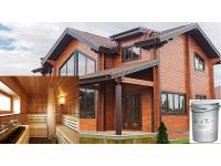 Идеальная покраска деревянного дома
