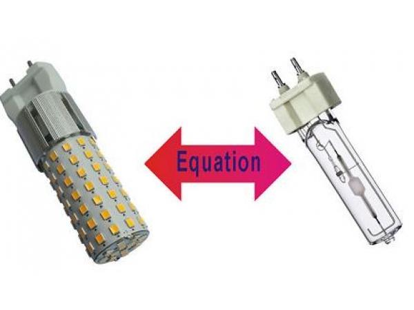 Светодиодная лампа G12-10W-96SMD-3000K с цоколем G12