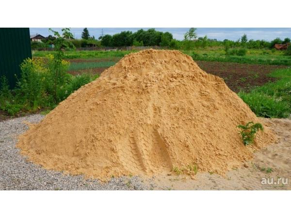 Песок строительный, карьерный, речной с доставкой