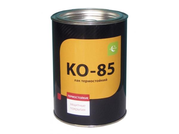 Термостойкий кремнийорганический лак КО-85. Термостойкость до + 280°С