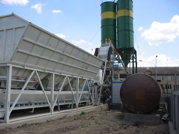 Стационарный бетонный завод Sumab Т-15