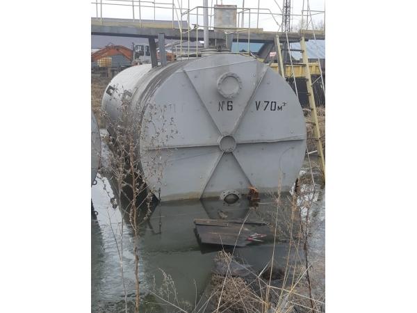 Цистерна, емкость, биметалл, нержавеющая на 70м3