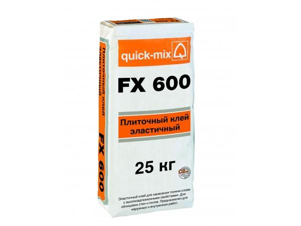 FX600 Плиточный клей, эластичный