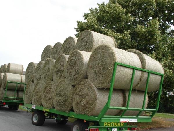 Прицеп для перевозки рулонов 7.5 тонн 24 рулона