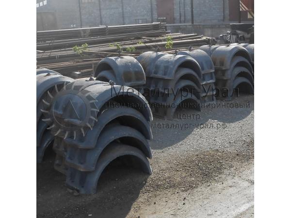 УЧК, утяжелители чугунные, пригрузы на трубопроводы