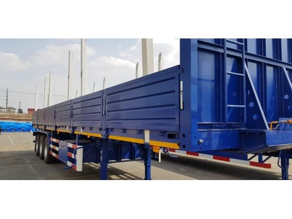Бортовой полуприцеп «CLPC» 50 тонн 3 оси рессорная подвеска