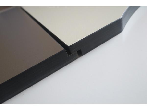 Бумажно-слоистый пластик HPL для отделки стен и перегородок