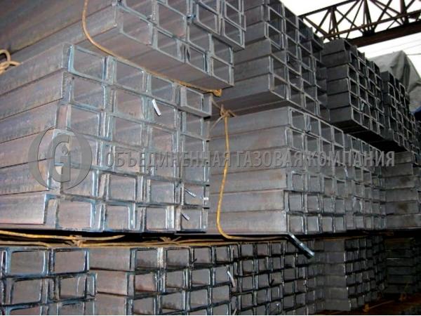 Швеллер стальной, горячекатаный, 09г2с, № 5 - 20 (У, П), ГОСТ 8240-97.