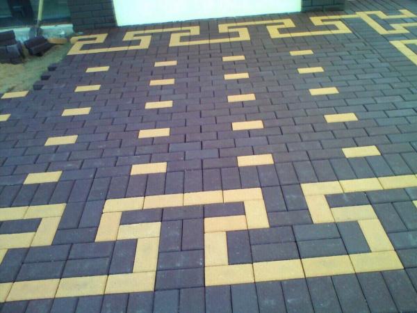 Тротуарная плитка БРУСЧАТКА  (вибропрессованная / вибролитьевая)