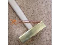 Латунные молотки 0,8 кг (800гр) с деревянной ручкой