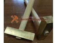 Латунные молотки 1,5 кг (1500гр) с деревянной ручкой