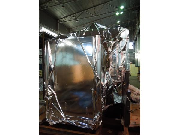 Упаковка компрессоров в металлизированную герметичную пленку NR-M
