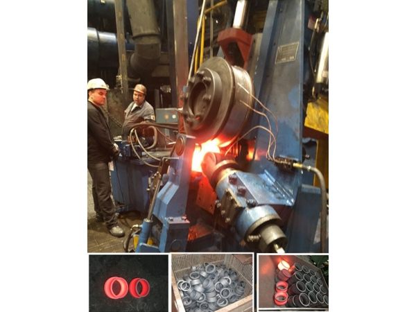 кольцепрокатный стан для производства ступицы