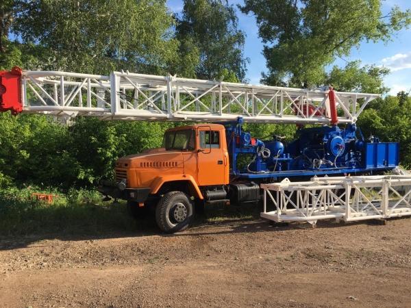Установка подъемная (буровая) УПА-60/80 на шасси КрАЗ 63221 (2016 г.в.