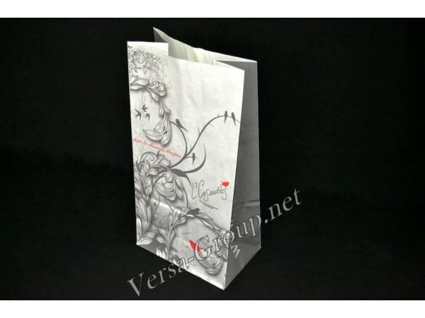 Бумажные пакеты с квадратным дном