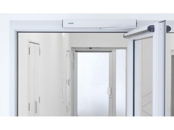 Привод Geze ECturn для автоматических распашных дверей