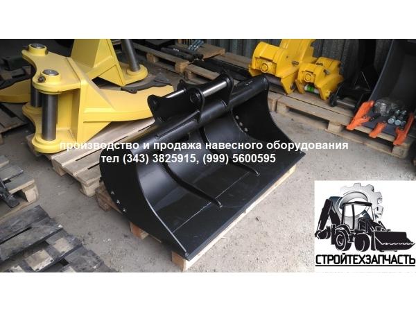 Планировочный ковш шириной 1200 мм на экскаватор-погрузчик