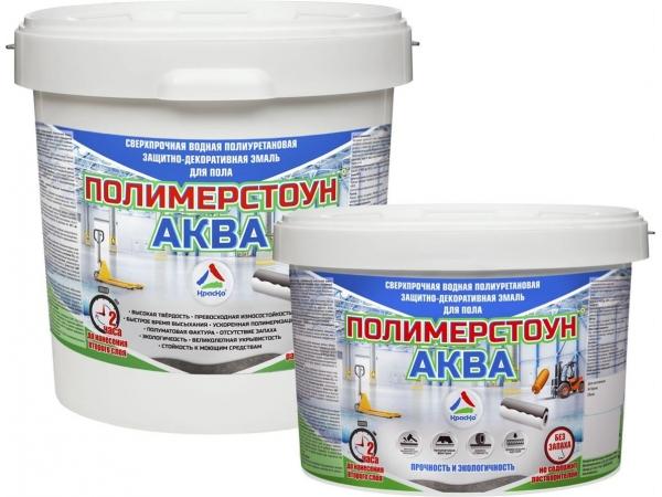 Полимерстоун-Аква — краска для бетонных полов (без запаха)