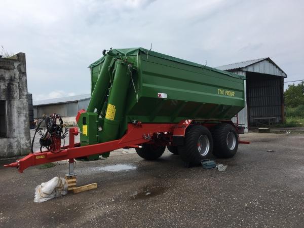 Прицеп-перегрузчик зерна 15 тонн
