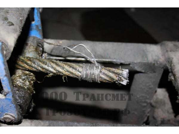 Канат стальной , отмот от 1 п/м
