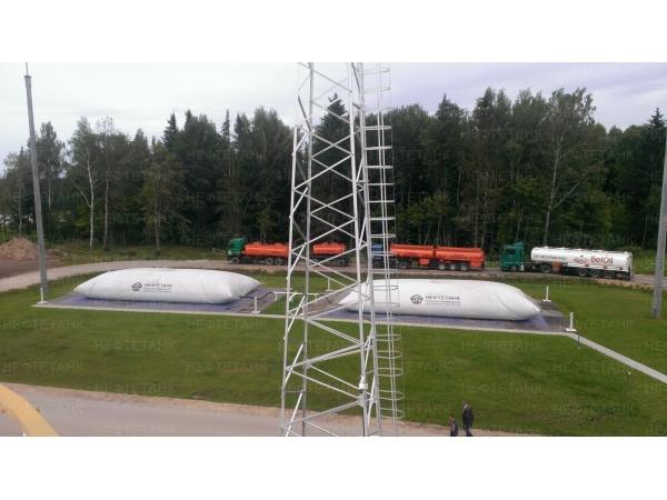 Резервуары для хранения горючего и мягкие емкости для топлива.