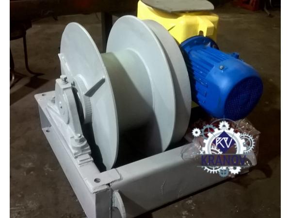 Лебедка электрическая ЛМ-71, 7 тонн