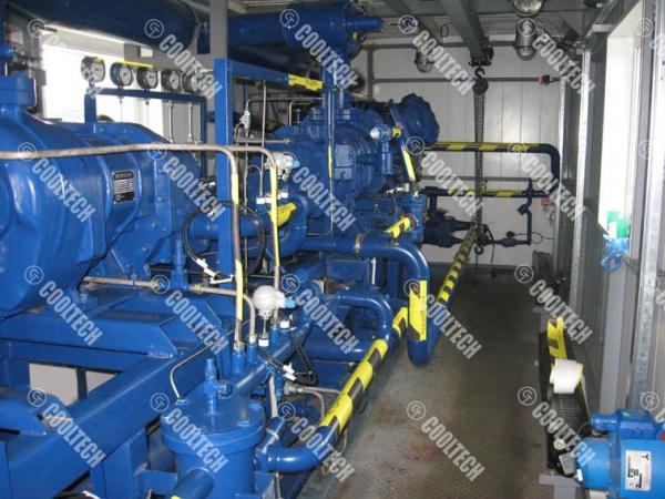 Дожимная компрессорная станция