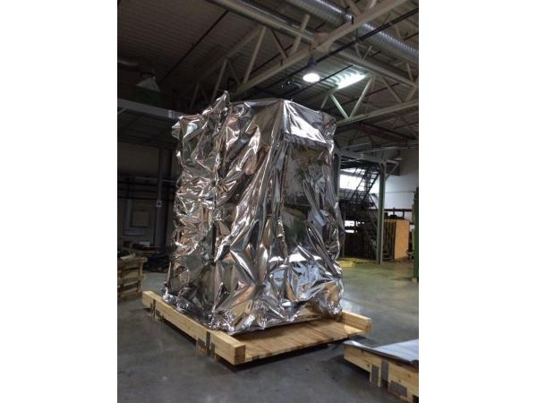 Металлизированная герметичная пленка для упаковки оборудования и др.