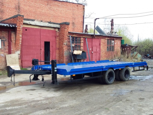 Прицеп 9835-30 эвакуатор для перевозки техники до 6 тонн