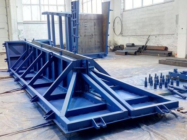 Металлоформы для подпорных стен