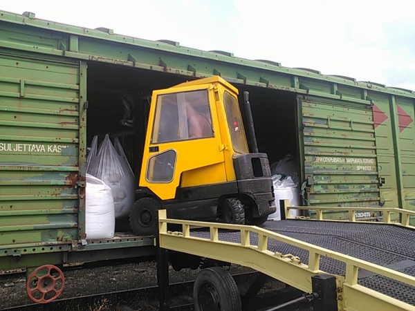 Железнодорожные грузоперевозки в  Крым и Севастополь.