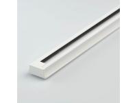 Шинопровод однофазный 1 метр белый