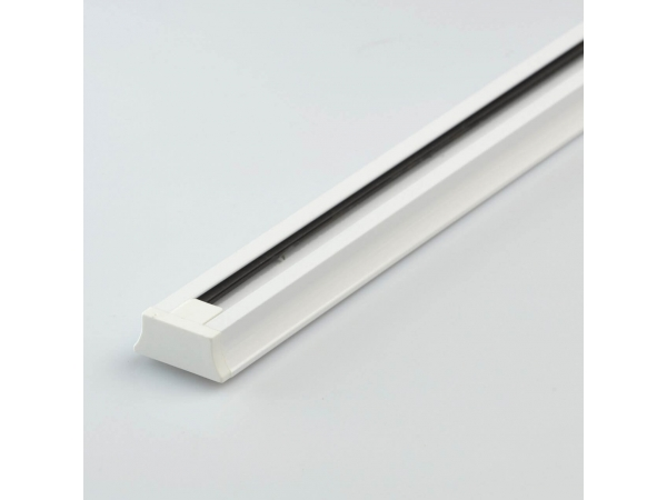 Шинопровод однофазный 1.5 метра белый