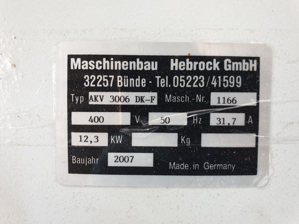 Кромкооблицовочный станок б/у Hebrock AKV 3006 DK-F