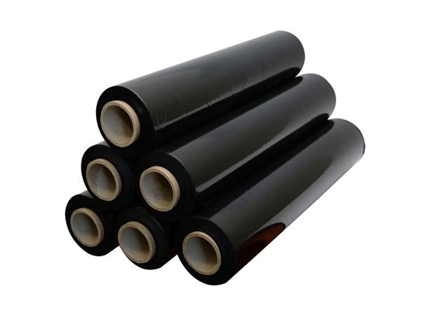 Чёрная Стрейч  плёнка 500 мм. 20 мкм.*300м.